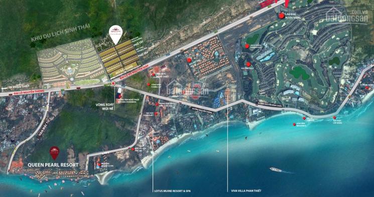 Chính chủ bán lô phố tây G5A dự án Queen Pearl Mũi Né. Giá 2.3 tỷ, LH 0908369990