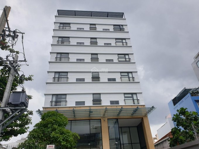 """""""Cho thuê văn phòng hạng sang building MT Phan Văn Trị, Bình Thạnh 15x40m hầm 8 tầng giá 372.000đ/m"""