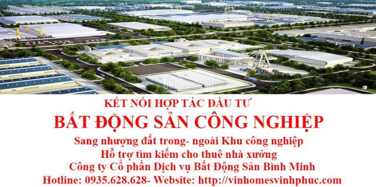 Cho THUÊ gấp 4000m nhà xưởng KCN Bình Xuyên 1 giá chỉ 3,5 USD/m/tháng. LH: 0935.628.628