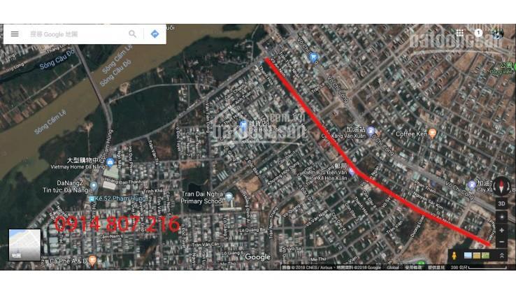 Bán đất đường 10,5m Võ An Ninh, Hòa Xuân, Cẩm Lệ, giá đầu tư 3,75 tỷ. LH: 09.4848.2020