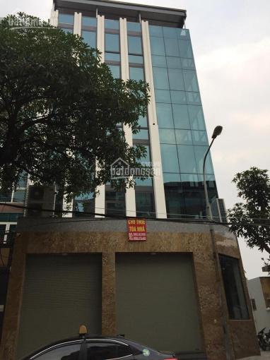 Cho thuê tòa nhà mặt phố Nguyễn Hoàng - Mỹ Đình, số 22, DT 150m2 x 7T, MT 15m, lô góc