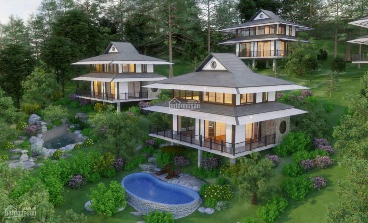 Siêu BT 2T, bể bơi riêng full nội thất Onsen Villas & Resort Hòa Bình, giá đầu tư LH: 0961687770