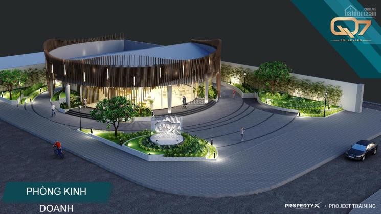 Q7 Boulevard nằm ngay đại lộ Nguyễn Lương Bằng, Quận 7, giá chỉ từ 39tr/m2. DA đã cất nóc giao 2020