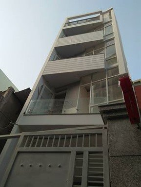 Cho thuê nhà mới, đường Phú Thọ Hòa, q. Tân Phú. (5,5x32m, 4 lầu, 8P)
