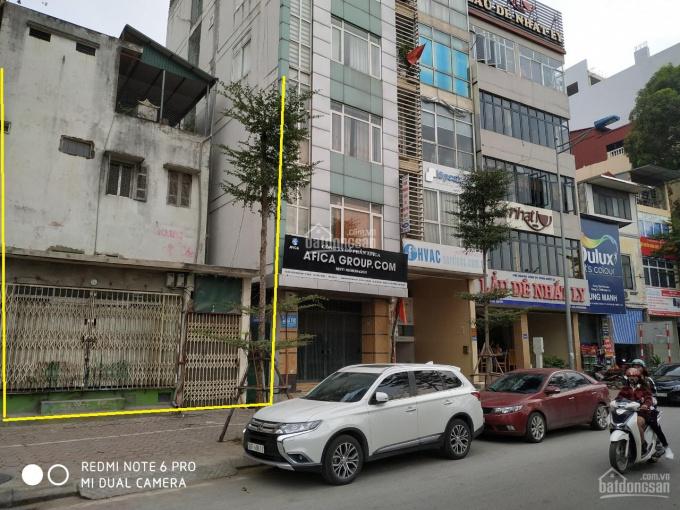 Bán nhà mặt phố 352 đường Bưởi, Ba Đình (chấp nhận môi giới)