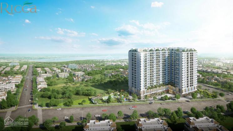 Chỉ 550 triệu sh căn hộ Ricca, 1 + 1 PN, view sông, 15 phút đến Quận 1