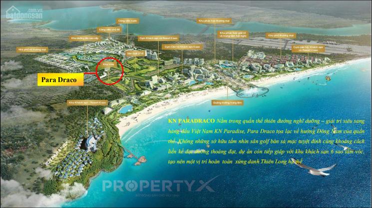 Chỉ 92 căn villas biển Bãi Dài Cam Ranh, view sân golf chỉ từ 49tr/m2 - CK 26%. Cam kết LN 8%/năm