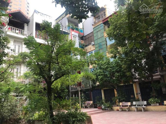Phố Vương Thừa Vũ, vườn hoa cây xanh, ô tô đua, DT 55m2 x 4T, LH 0365283258