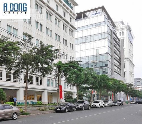 Cho thuê văn phòng Đại Minh Convention Tower, Đ.Hoàng Văn Thái, quận 7, DT 120m2, giá 46tr/tháng