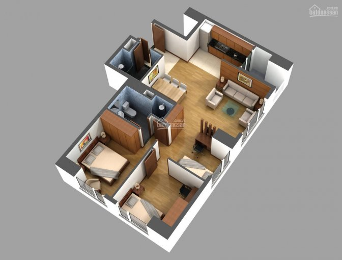 Bán căn góc 2 mặt thoáng, 3PN + 2WC tầng 11 chung cư 789 Xuân Đỉnh ảnh 0