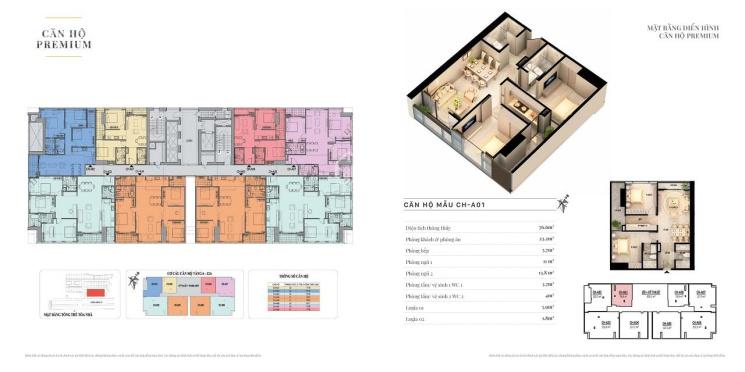 Căn hộ 2 phòng ngủ 138B Giảng Võ diện tích 77.4m2 - Giá gốc Chủ đầu tư - Nội thất full nhập khẩu