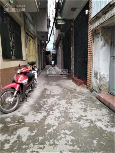 Bán nhà riêng ngõ 55 Dương Văn Bé, Vĩnh Tuy, Q. Hai Bà Trưng 35,5m2, 2.65tỷ
