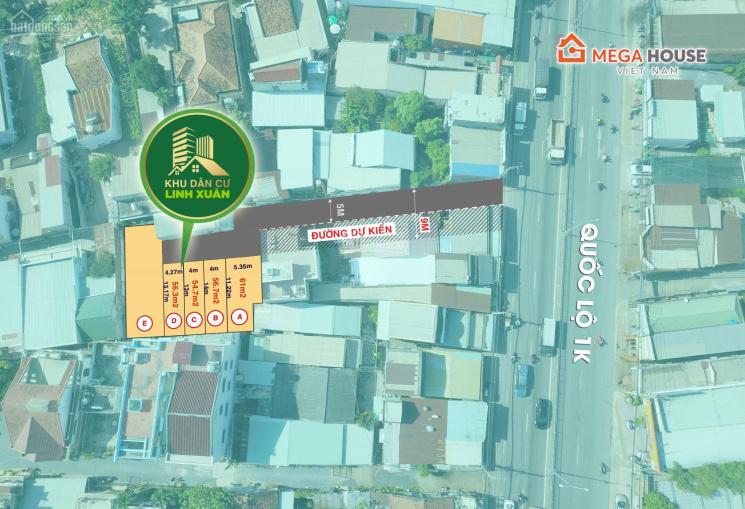 Mở bán 5 nền Có SHR, ngay đường Số 8, Linh Xuân, Thủ Đức, cách QL1k 10m
