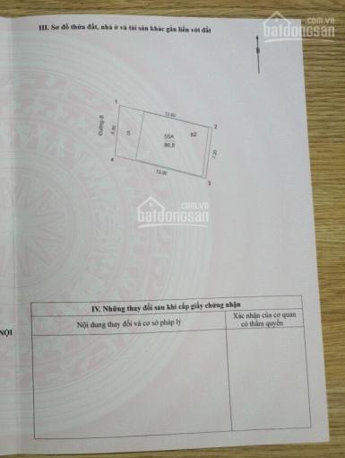 Bán nhà đất mặt ngõ 209 Đội Cấn, Ba Đình, ô tô vào nhà, DT 87m2 x 2T, giá 8,6 tỷ