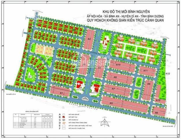 Mở bán GĐ2 KDC Bình Nguyên - MT Thống Nhất, Bình Dương - giá 1.3 tỷ, nền 100m2 - sổ riêng, bao tên