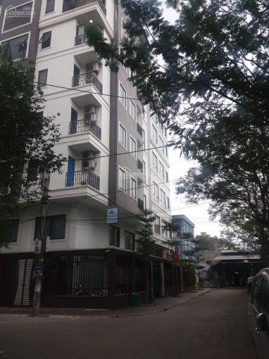 Cho thuê nhà căn góc 2 mặt tiền, ngõ 10 phố Nguyễn Văn Huyên, diện tích 60m2 x 7 tầng thông