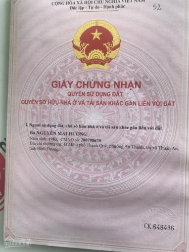 Cần bán lô đất 100m2 đường D15 Gần chợ D5 KDC Việt Sing Vsip 1 giá 2,8 tỷ bao sổ. LH: 0383.2299.67