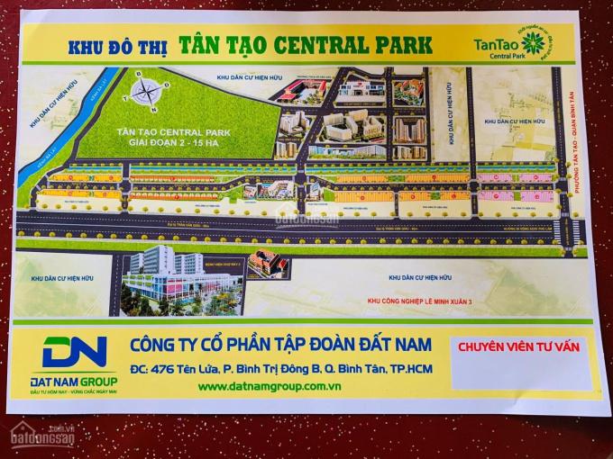 Hãy đến với KĐT Tân Tạo CenTral Park, an tâm về giá, không lo về vị trí, cam kết sổ hồng