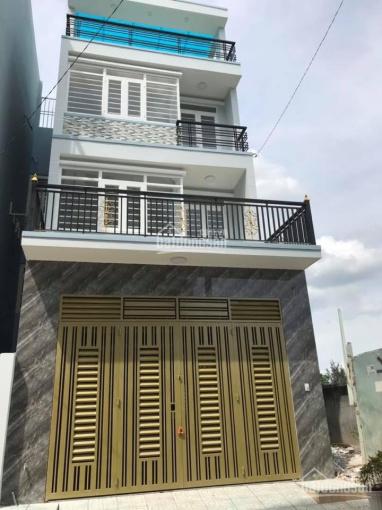 Bán nhà 1 trệt 3 lầu. Đường 7m sẹc Trần Thị Hè, gần ngã 3 Đông Quang P. Hiệp Thành, Q12