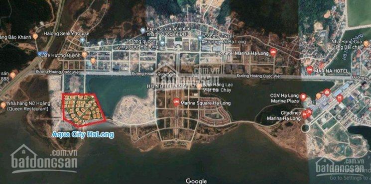 Quỹ căn độc quyền shoptel Aqua City Bãi Cháy view mặt biển Hạ Long, liên hệ PKD CĐT: 096.189.9494