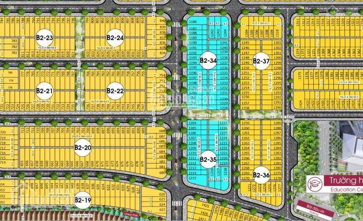 Bán các lô cuối cùng đất nền HomeLand, giá chỉ từ 17 triệu/m2, giá gốc chủ đầu tư, quý 2 công chứng
