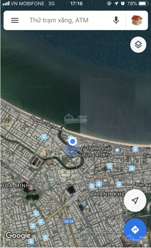 Bán nhà mặt tiền đường Đặng Đình Vân, Thanh Khê. DT: 5x15m, gần biển Nguyễn Tất Thành