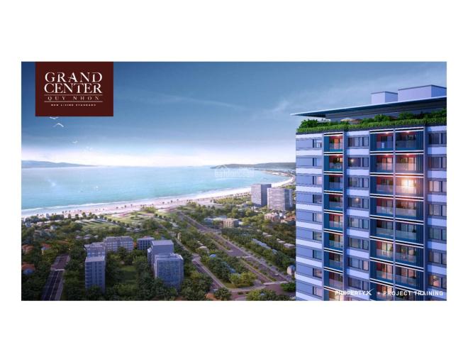 Căn hộ số 1 Nguyễn Tất Thành, TP Quy Nhơn dự án Grand Center CDT Hưng Thịnh 1.8 tỷ/căn CK cao ảnh 0
