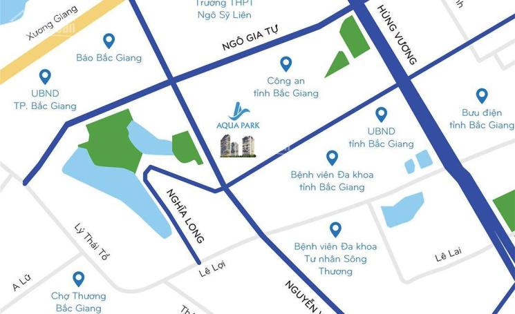 Chung cư 5 sao Aqua Park Bắc Giang