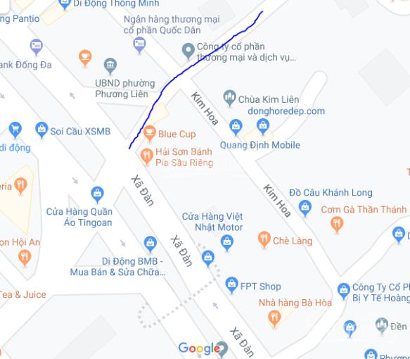 Cho thuê nhà riêng mặt ngõ 198 Xã Đàn 60m2, kinh doanh được giá 13tr/ tháng