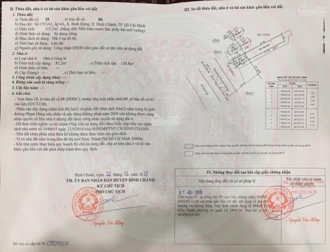 Cần bán gấp nhà mặt tiền Phạm Hùng, gần Nguyễn Văn Linh, 0939251838