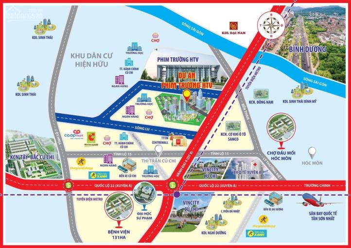 700tr sở hữu ngay nền 80m2 tại khu dân cư Phim Trường HTV, TP HCM, 086 58 78 179
