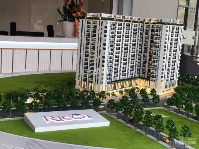 Chỉ 550 triệu sh căn hộ Ricca, 1 + 1 PN, view sông, 15 phút đến Quận 1, 29tr/m2, LH 0915 93 24 24
