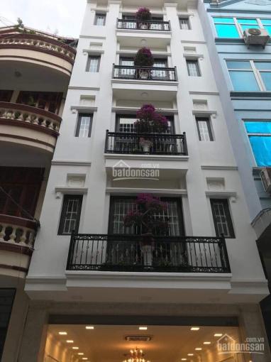Bán nhà mặt ngõ 12 Đào Tấn 14,5 tỷ, 57m2 xây 7 tầng đang cho thuê gần 60tr/tháng, 0936181212