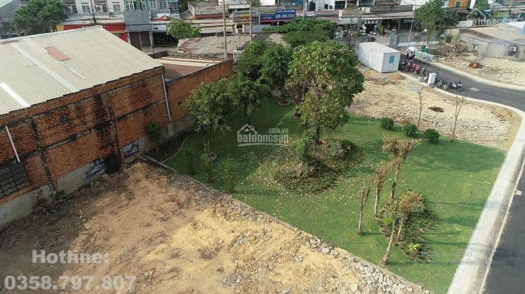 Lô góc 2 mặt tiền 280m2 thổ cư 195m2 tại mặt tiền Vĩnh Lộc, Bình Chánh, Vietconbank hỗ trợ vay 50%