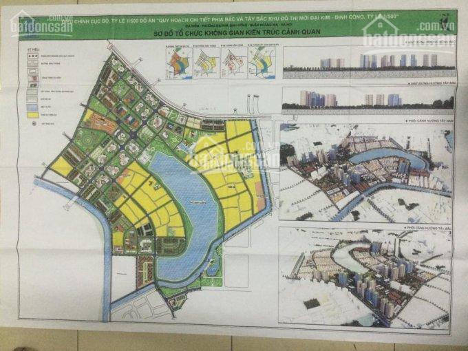 Tổng hợp các nền liền kề đẹp, đầu tư tốt tại dự án Đại Kim Định Công giá gốc 30tr/m2 LH: 0902282918 ảnh 0