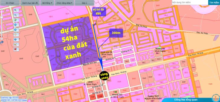 Bán đất chính chủ diện tích lớn, xã Phú Hội, mặt tiền Nguyễn Hữu Cảnh