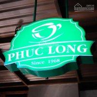 Phúc Long Coffee cần thuê nhà ở các quận trung tâm TP. HCM