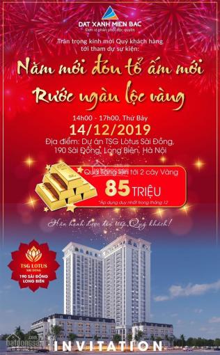 Hot, chỉ từ 620 triệu sở hữu căn hộ TSG Lotus Sài Đồng hỗ trợ vay 70% - tặng 2 cây vàng