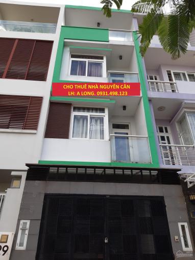 Cho thuê nhà mặt tiền Nguyễn Hoàng, P. An Phú, Q2 4x20m trệt, 3 lầu