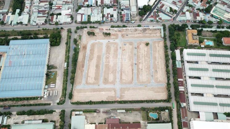 Bán đất mặt phố đường 25m đã có sổ đỏ phường Tân Đông Hiệp - Dĩ An - Bình Dương. LH 0853829999