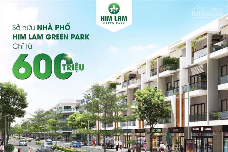 Mở bán GĐ2 khu đô thị Him Lam Green Park: Sở hữu shophouse chỉ với 600tr, ngân hàng hỗ trợ 80%