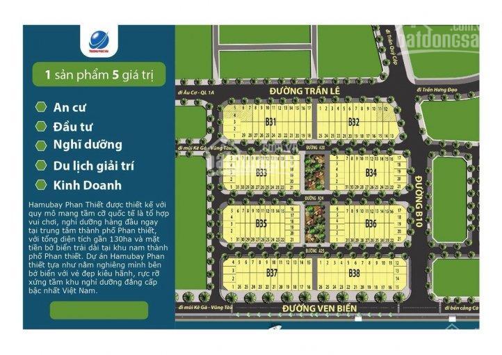 Chính chủ bán lô view biển dự án Hamubay Phan Thiết lô B33-24, giá 23tr/m2. LH: 098.468.0809