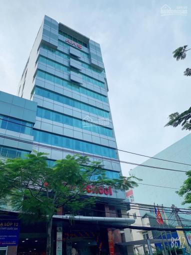 Tòa nhà văn phòng MT ngay Trường Sơn, P. 2, Q. Tân Bình - 1 hầm 9 tầng 1600m2 sàn, 091.668.9090