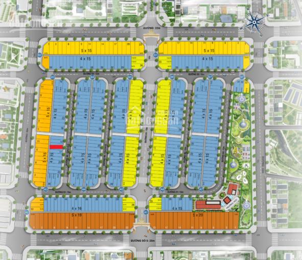 Chính chủ nhượng giá đầu tư nền đất đấu lưng shophouse 4 mặt tiền rẻ hơn thị trường 200tr