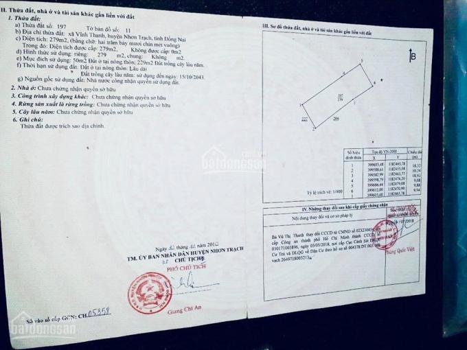 Bán lô đất ấp Thanh Minh, đường lớn Hùng Vương vào hẻm 30m, giá chỉ 11tr/m2 ảnh 0
