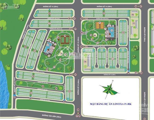 Chuyển nhượng nhà phố Lovera Park, giai đoạn 1,2,3, thanh toán tiến độ, NH hỗ trợ 70% LH 0938787248