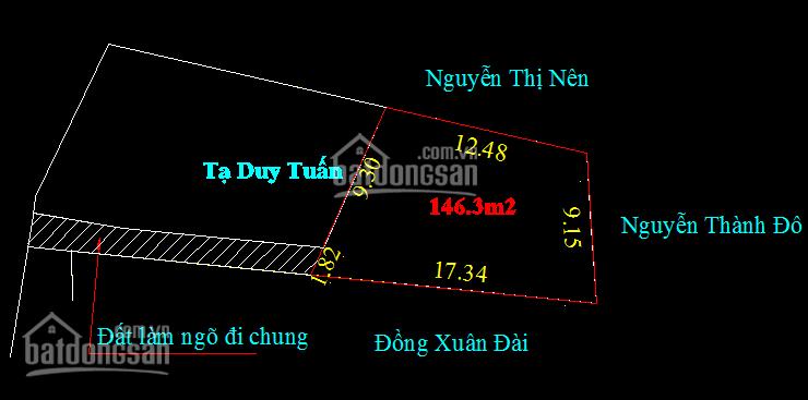 Bán đất xã Hoa Động, Thủy Nguyên, giá đầu tư