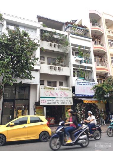 Cho thuê nhà làm văn phòng 2MT Hai Bà Trưng 5 lầu TM, 6,2x19m, 130tr Tân Định, Q1 0918577188