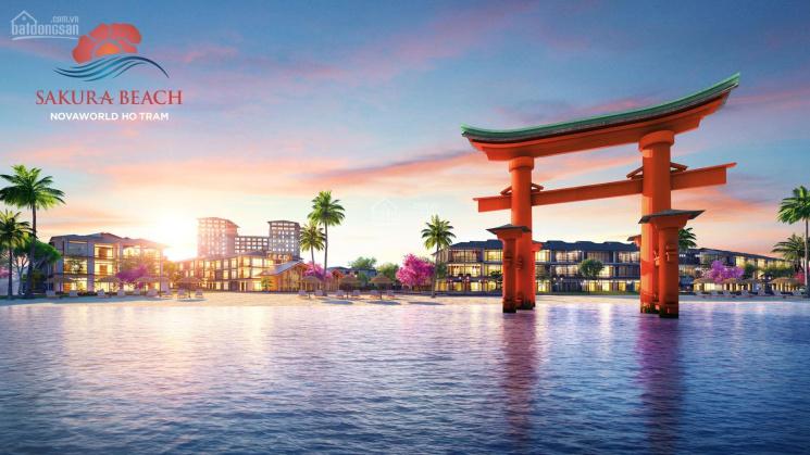 Mở bán shophouse kinh doanh Sakura Beach Novaworld Hồ Tràm, cam kết lợi nhuận khủng 1.4 tỷ/năm