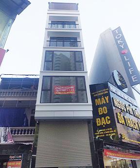 Chính chủ cho thuê nhà phố số 20 ngõ 14, Vũ Hữu, làm VP, kinh doanh tốt. LH 0904875285
